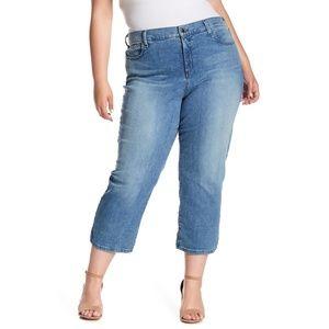 NYDJ Marilyn Capri Jeans Jet Stream 20W #3752